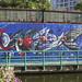 Sathon Canal Art - Bangkok, Thailand
