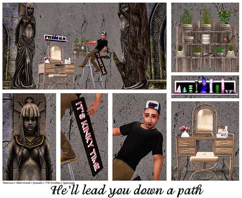 He'll lead you down a path