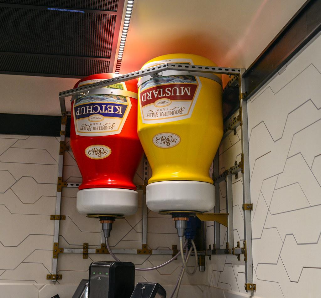 Pym Test Kitchen giant condiments DCA