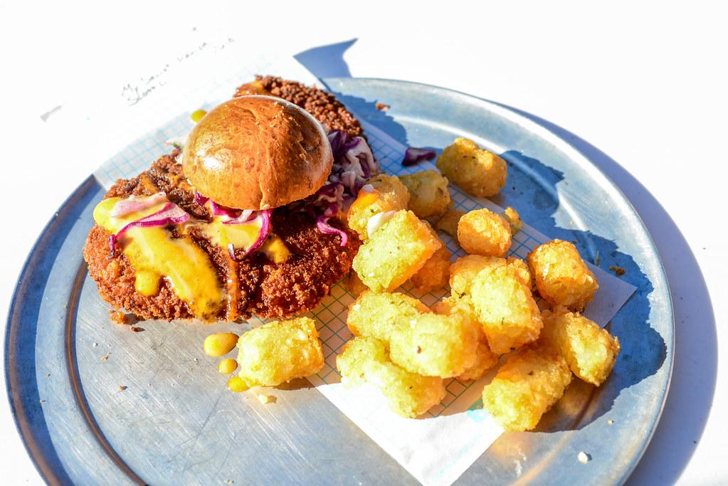 Pym Test Kitchen chicken sandwich DCA