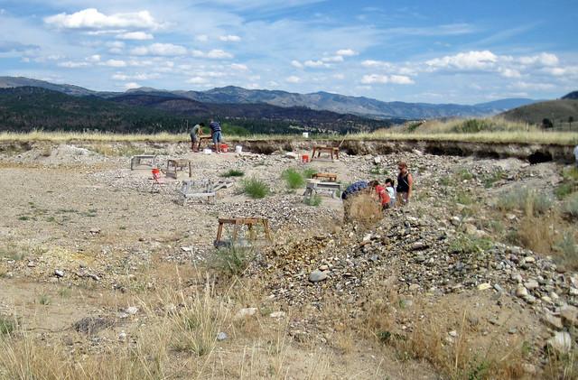 Spokane Sapphire Mine (near Helena, Montana, USA) 21