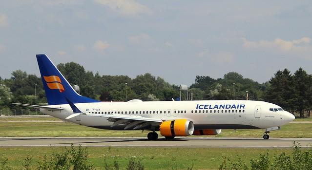 Icelandair, TF-ICY,MSN 44354,Boeing 737-8MAX, 25.07.2021,HAM-EDDH, Hamburg