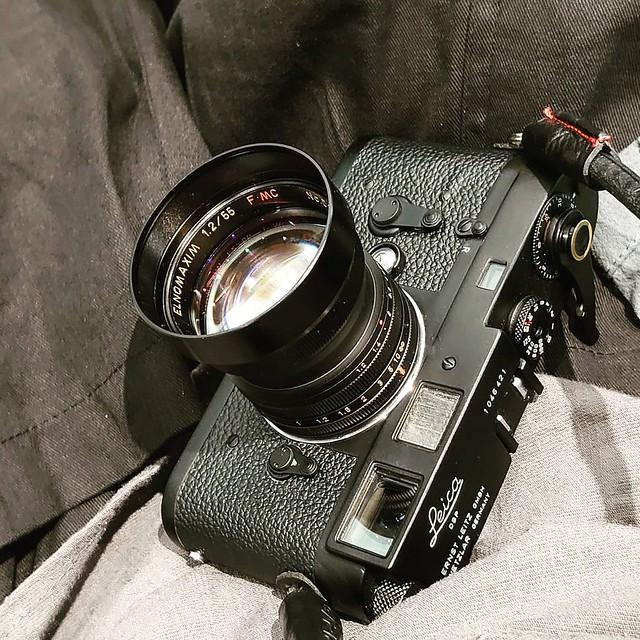 宮崎光學 55mm f1.2 曰系Elcan味