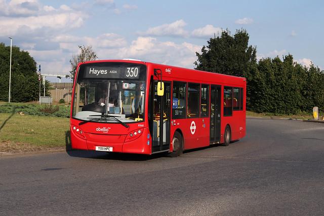 Route 350, Abellio London, 8568, YX11HPC