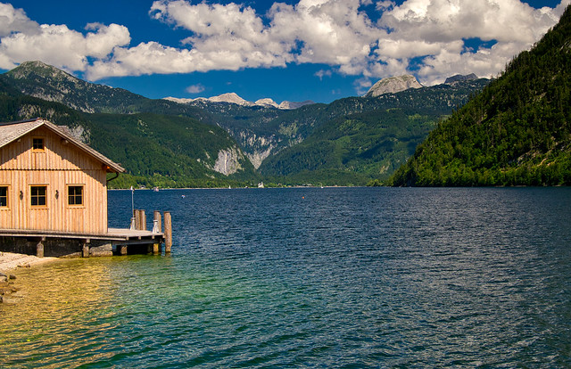 Grundlsee lake, Styria, Austria