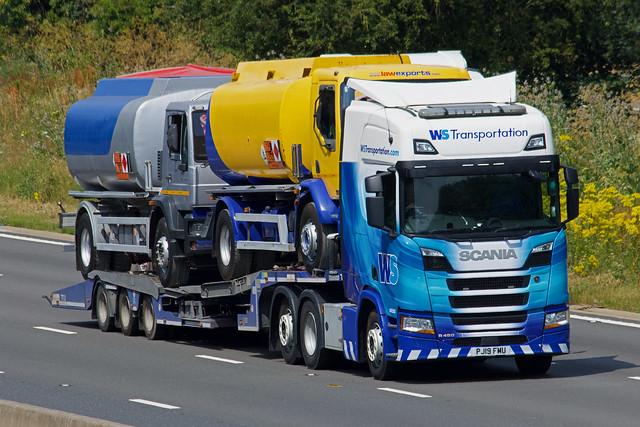 WS Transportation Scania R450 PJ19FMU