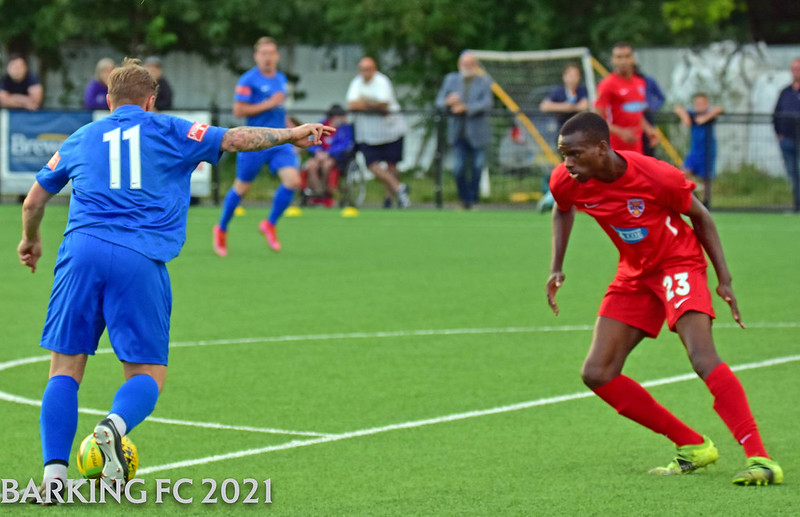 Barking FC v Dagenham & Redbridge FC - Tuesday August 4th 2021