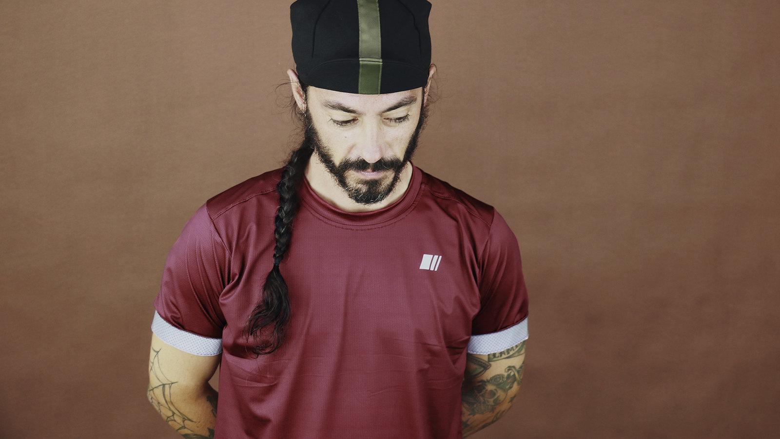 Camiseta Xplore Burgundy