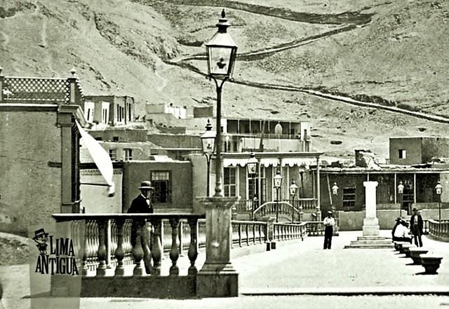 Lima - Perú, ca 1868, Distritos Limeños