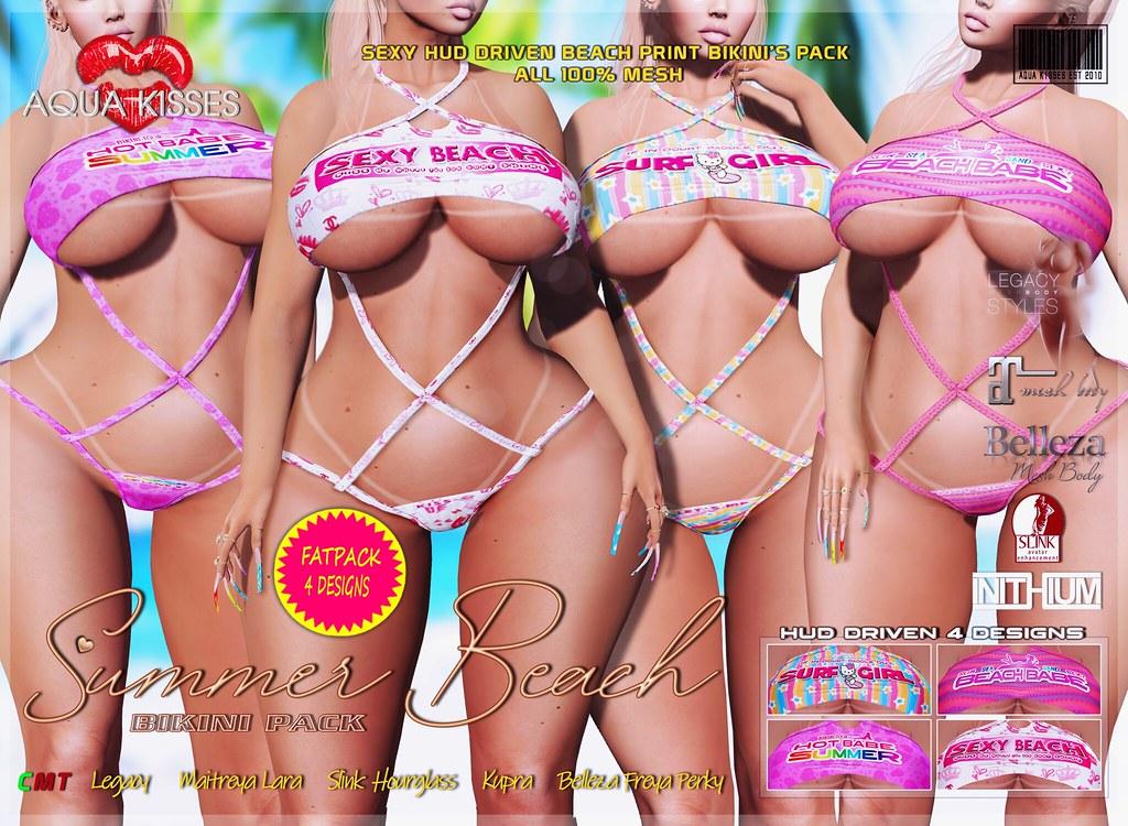 Summer Beach Bikini Pack