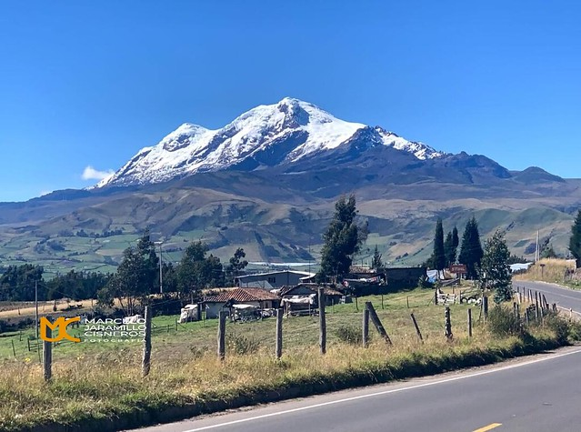 Volcán Cayambe 5790 m.
