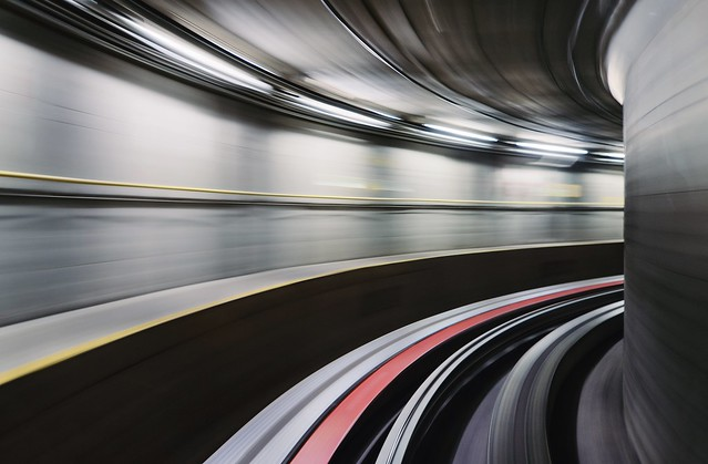Entering warp speed in sector space