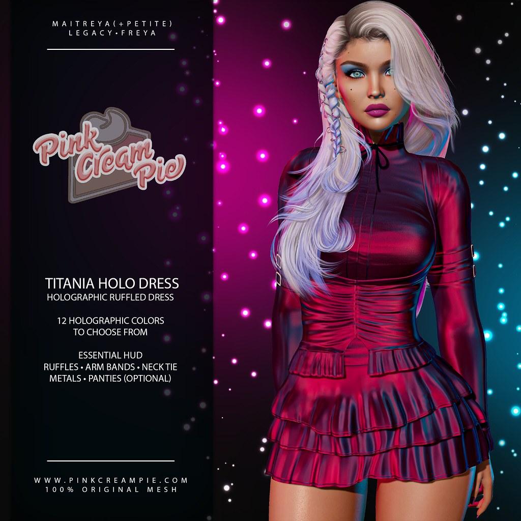 Titania Holo Dress @ Fly Buy Fridays 8/6