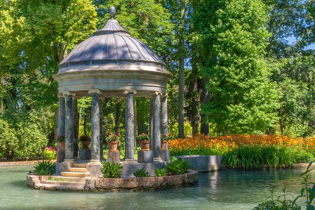 Estanque de los Chinescos, Jardín del Principe, Aranjuez, Madrid, España