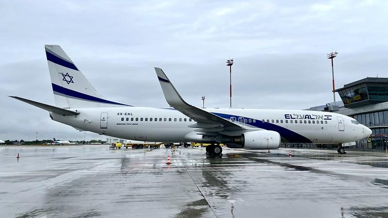 4X-EKL El Al Israel Airlines Boeing 737-85P(WL)