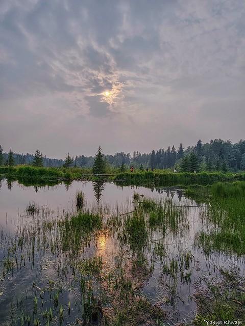 Sunset at Hinton Alberta