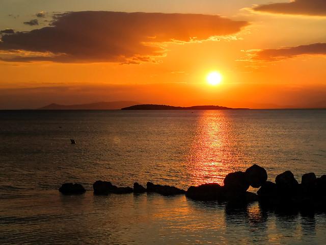 sunset at kavouri