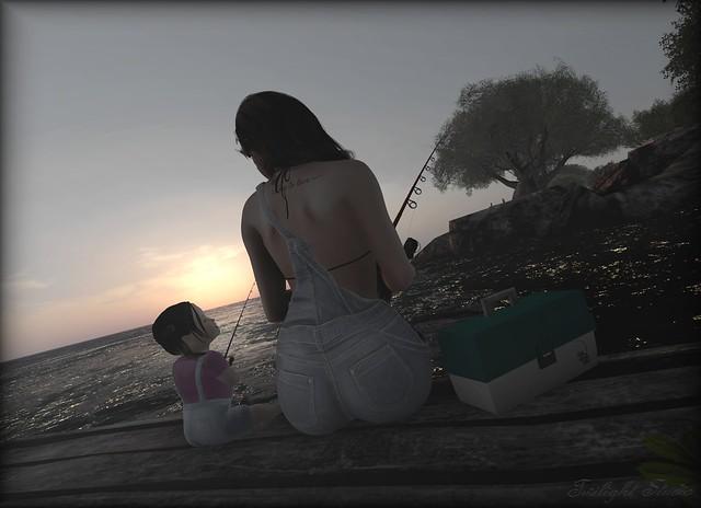 Gone fishing Two - Happy Birthday in Heaven, Mama.