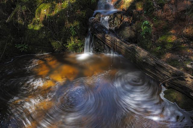 Long Exposure Auburn Fall