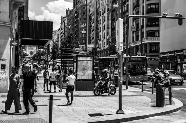 Gran Via. Madrid