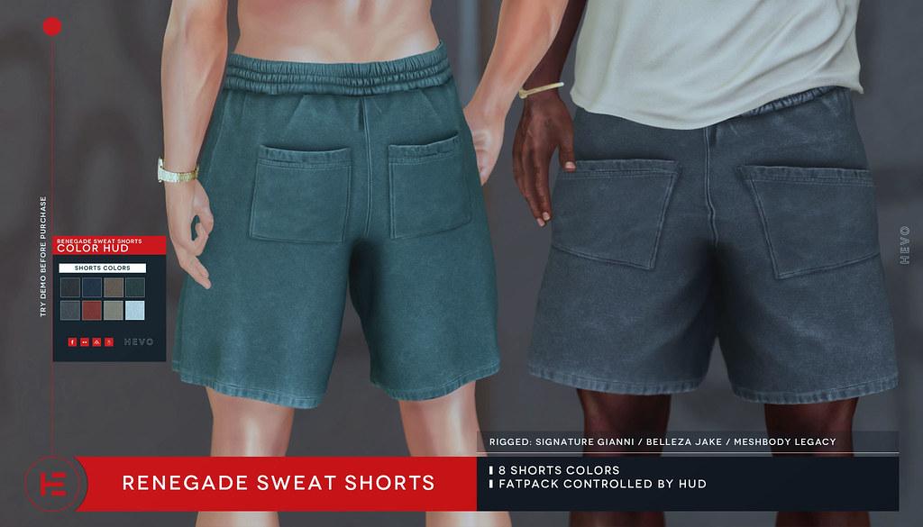 HEVO – Renegade Sweat Shorts