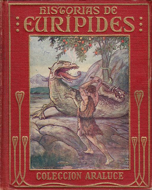 María Luz Morales (adap.) - Historias de Eurípides (Araluce)