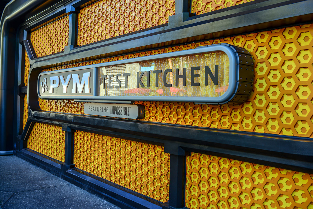 Pym Test Kitchen sign DCA