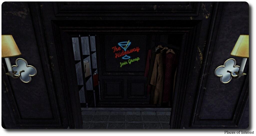 Hideaway Coat Closet