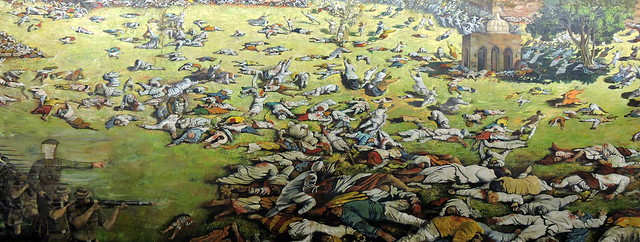 Amritsar Tour - Jallianwala Bagh (The Massacre Painting)