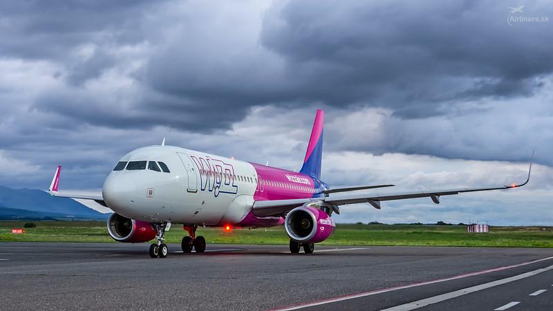 G-WUKF Wizz Air UK Airbus A320-232(WL)