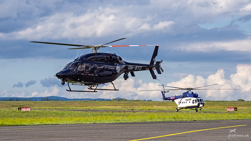 OM-BYD Slovak Government Flight Service Bell 429