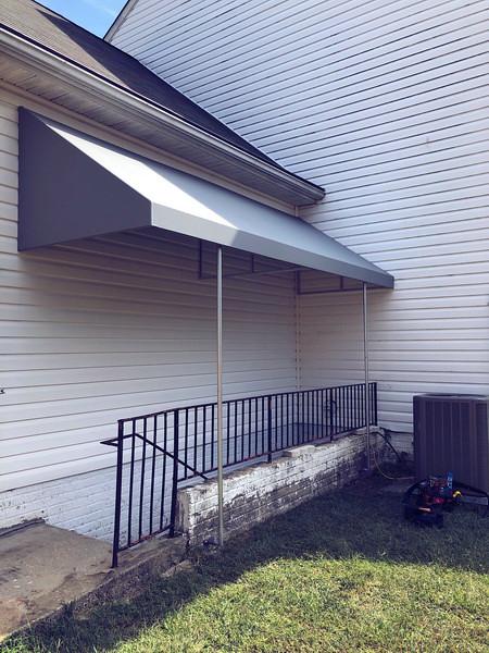 stairwell-awning-hoffman-awning baltimore