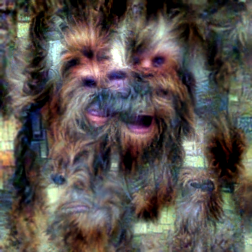 'Chewbacca' CLIP RGB Optimization