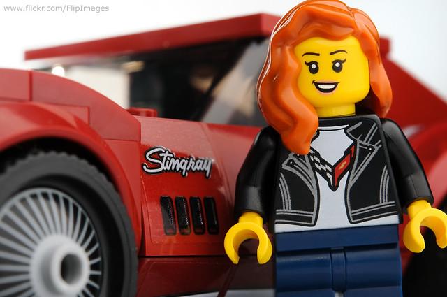 Corvette girl....