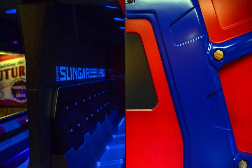 WEB Slingers ride vehicle DCA