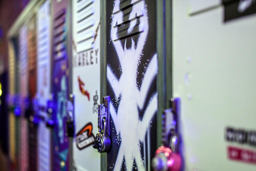 WEB Slingers lockers DCA