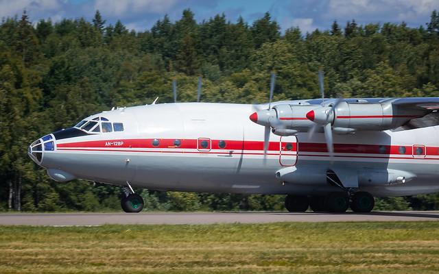 KUN AN-12BP UR-CGW Meridian Airlines