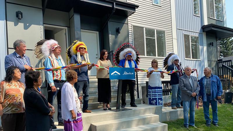 Doors open to new Indigenous housing in Edmonton