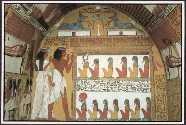 Egypt - Luxor Deir-El Medina (Tomb of Senngen)