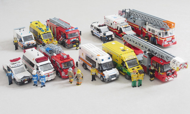 Emergency vehicle collection