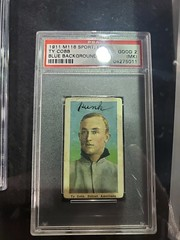 M116 Sporting Life Ty Cobb with humorous owner comment
