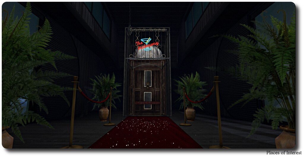 The Hideaway Entrance