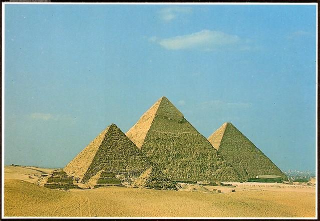 Egypt - Giza Pyramids (Dynasty IV 2613-2494 B.C.)