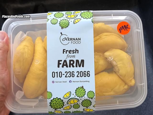 hernan food musang king durian
