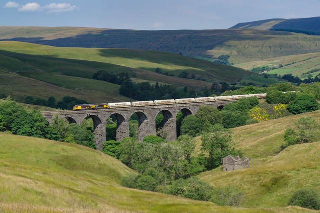 66724 On Dent Head Viaduct. 04/08/2021.