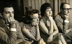 Oswaldo Loureiro, Susana Freyre, Susy Arruda e Sérgio Viotti, 1961