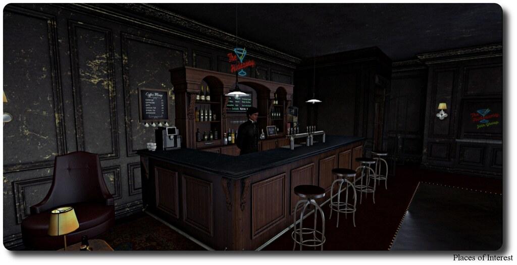 Hideaway Bartender