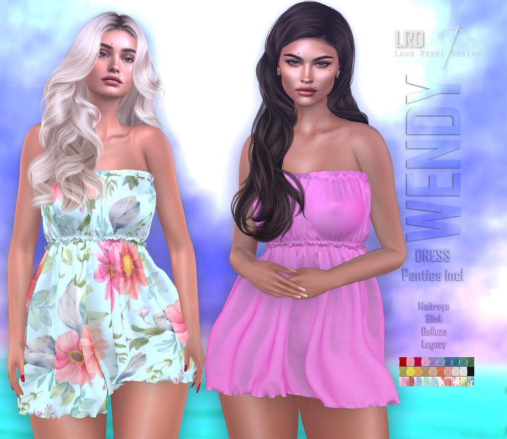 LRD dress Wendy incl panties