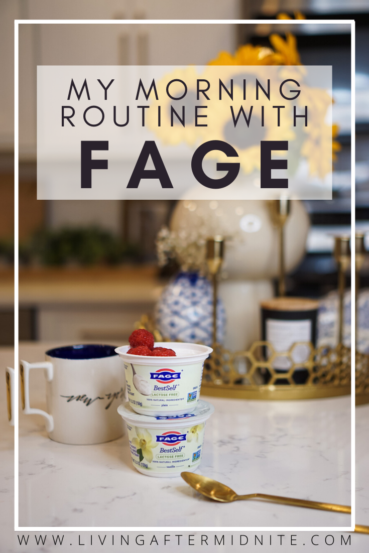 My Morning Routine with FAGE | 5 Things to do in the Morning for a Successful Day | Lactose Free Yogurt | Lactose Free Greek Yogurt | Best Lactose Free Yogurt