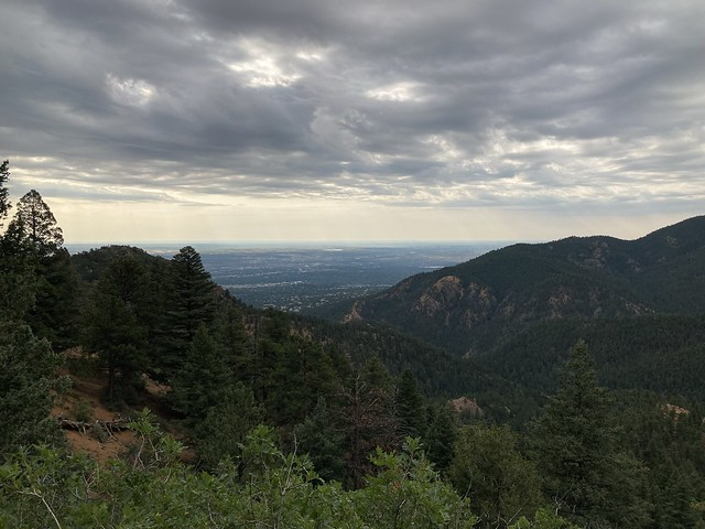 Section 16 Manitou Trail View of Colorado Springs